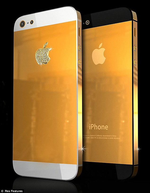 Golden iPhone 5