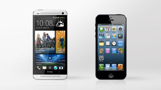 HTC One and iPhone 5 comparison