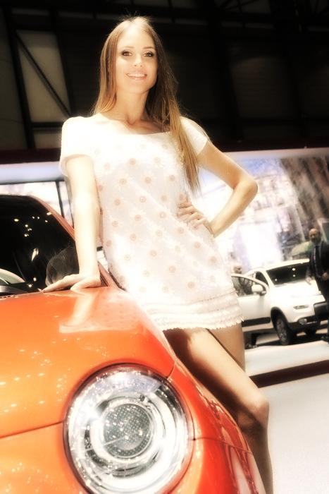 Babes & Cars - Geneva Motor Show 2013 (1)