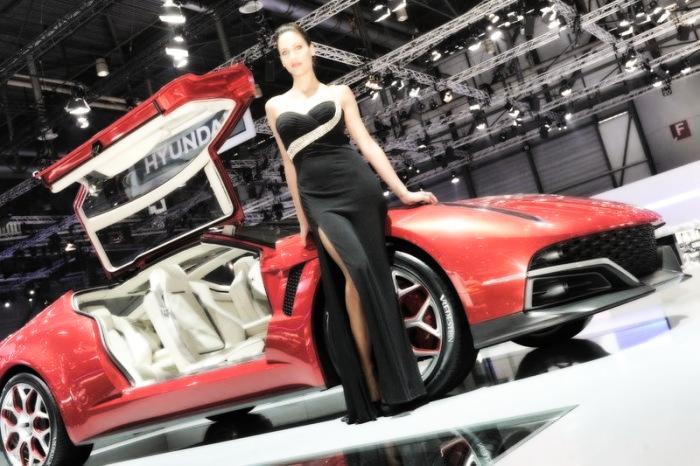 Babes & Cars - Geneva Motor Show 2013 (10)