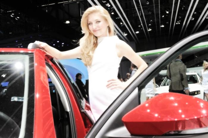 Babes & Cars - Geneva Motor Show 2013 (12)