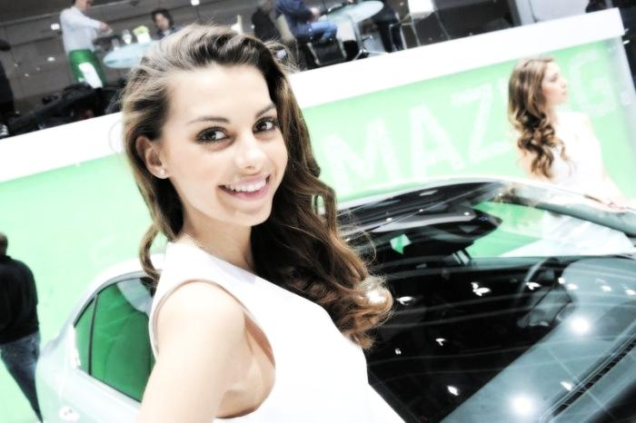 Babes & Cars - Geneva Motor Show 2013 (13)
