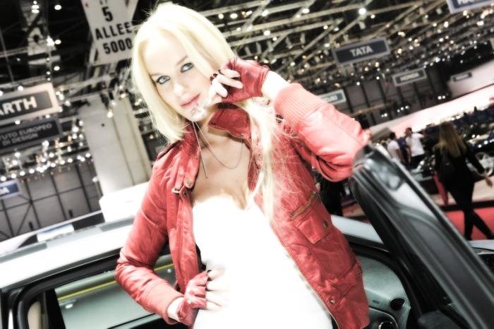 Babes & Cars - Geneva Motor Show 2013 (16)