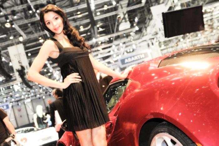 Babes & Cars - Geneva Motor Show 2013 (17)