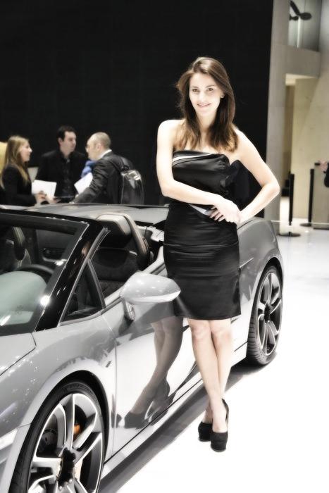 Babes & Cars - Geneva Motor Show 2013 (20)
