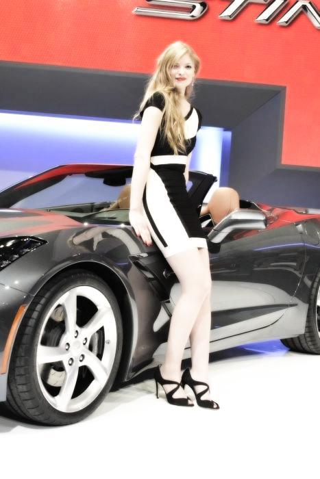 Babes & Cars - Geneva Motor Show 2013 (28)