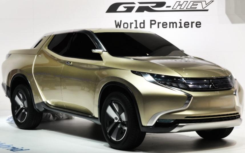 Cars Geneva Car Show 2013 Mitsubishi Concept GR-HEV
