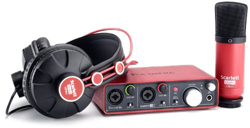 Focusrite Scarlett Studio USB Audio Package