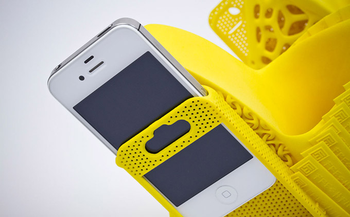 Yellow Shoes iPhone Holster