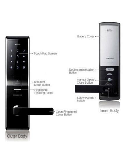 Fingerprint Digital Door Lock by Samsung 2