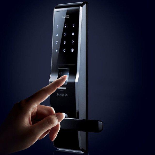 Fingerprint Digital Door Lock by Samsung $370
