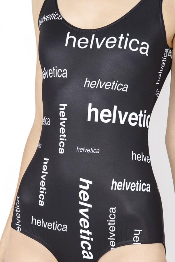 Helvetica-Font-Swimsuit