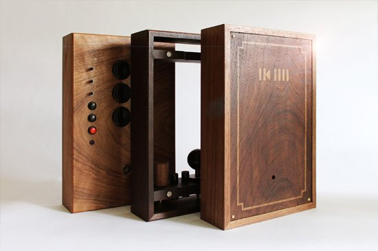 Wooden Arcade Gaming System 4