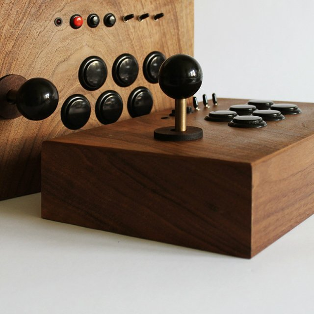Wooden Arcade Gaming System