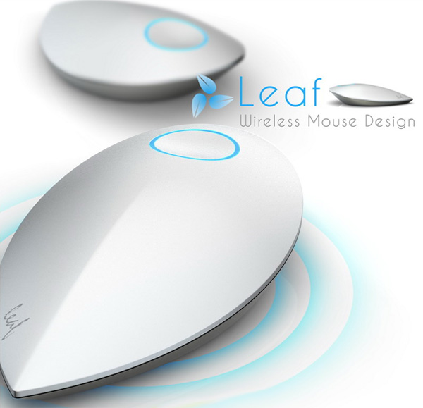 leaf the mouse with no battery