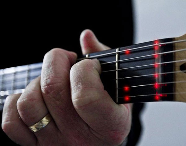 LED Learning Guitar by Fretlight