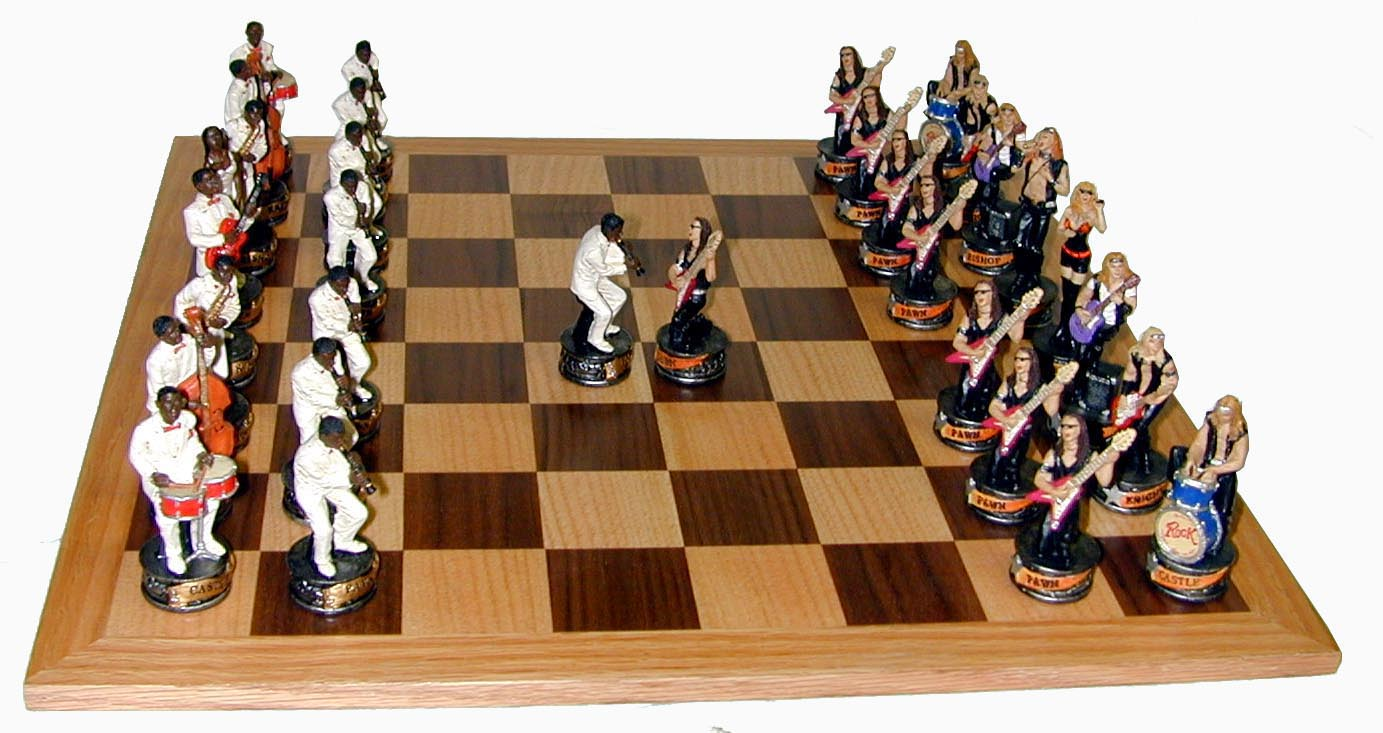 Rock Music Chess Set