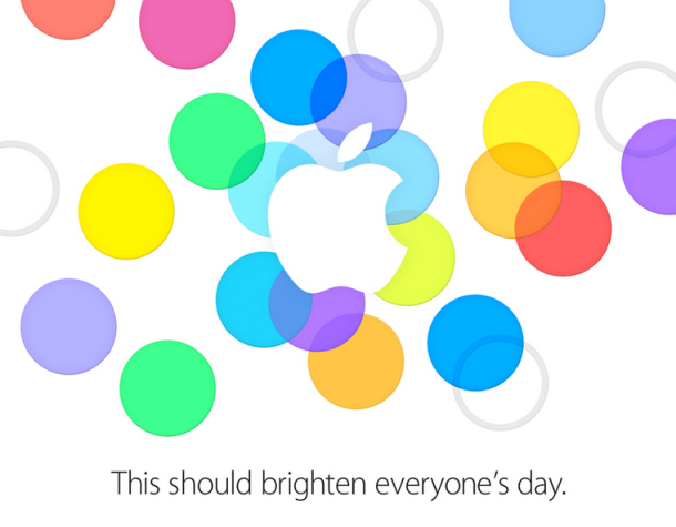 The iPhone 5S and 5C launch is official now. Apple sent out invitations for the September 10th event