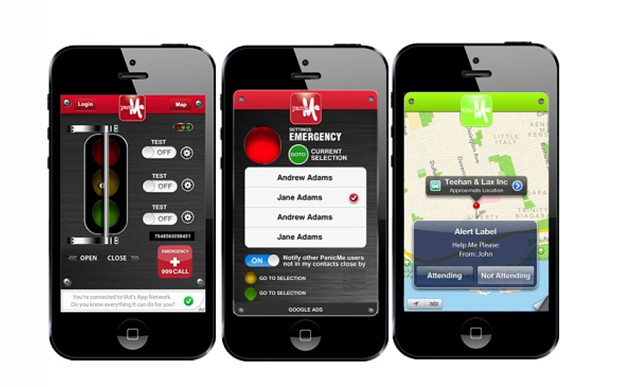 Panic button for iPhone and Android: a new app that warns your friends and family that you are in danger