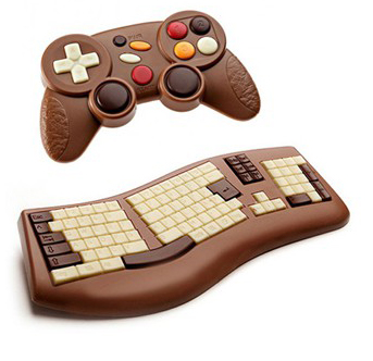 Christmas Gift Idea for Geeks: Chocolate Keyboards