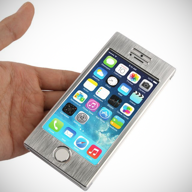 iPhone 5S aluminium case