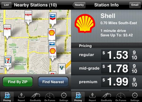 Useful Smartphone Apps to Help You Save Money behind the Wheel