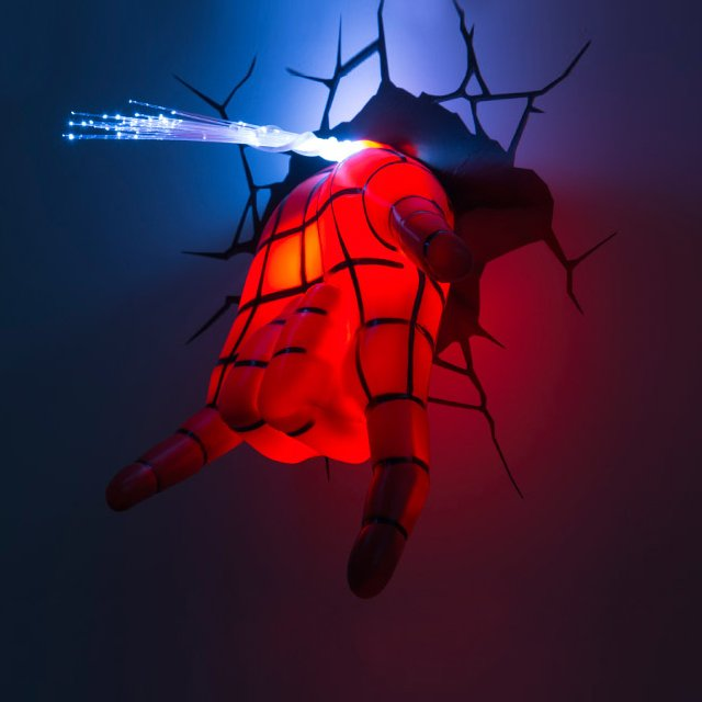 Spidey Hand 3D Deco Light
