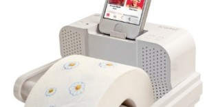 iCarta Stereo Dock Bath Tissue Holder