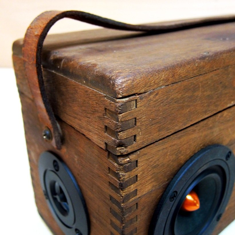 vintage wood prospector boomcase 3