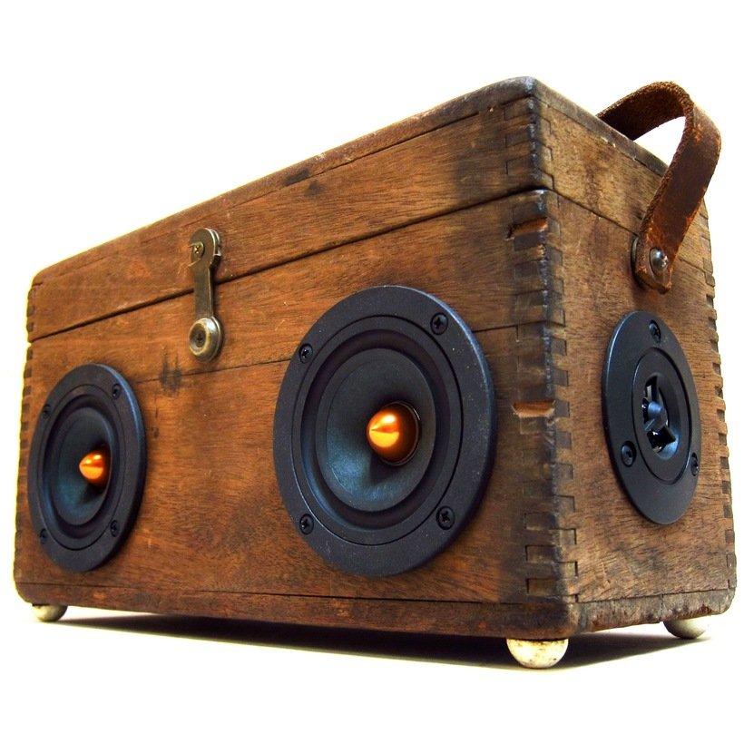 vintage wood prospector boomcase 4