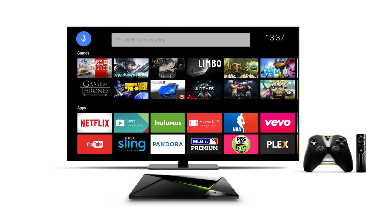 Nvidia Shield Pro Android TV Box 2
