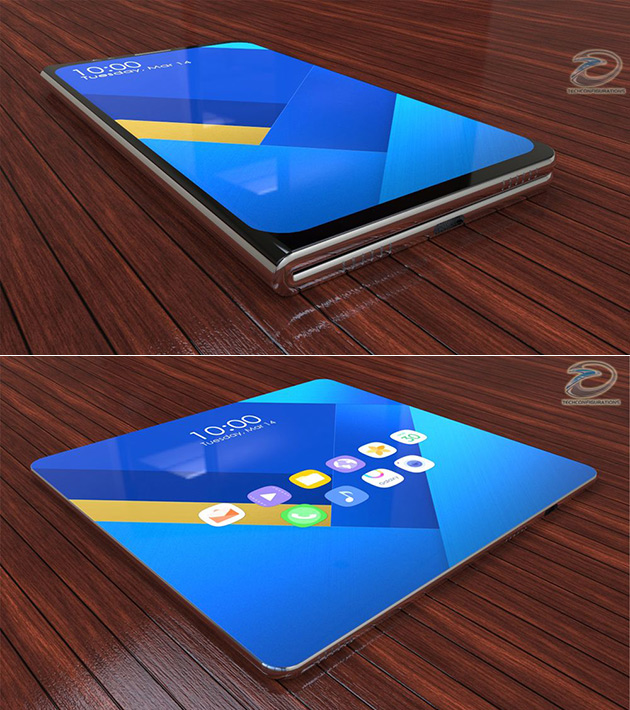 Samsung Galaxy X concept design