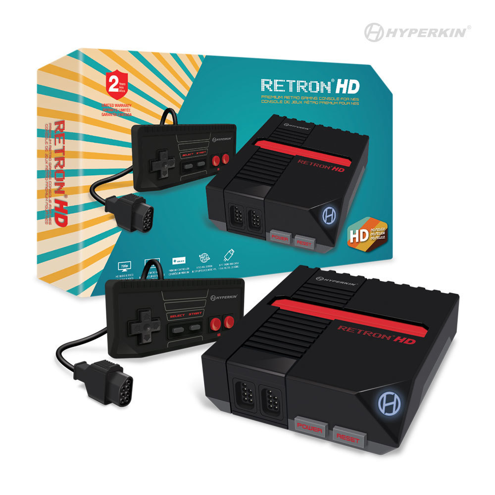 RetroN 1 HD: a cheap console that allows you to play classic NES games