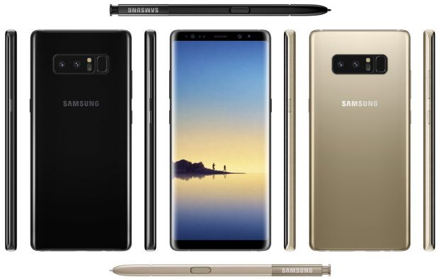 New images emerged with Galaxy Note 8!