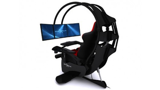 Emperor 1510 every gamer 39 s dream crazycoolgadgets for Silla razer gamer