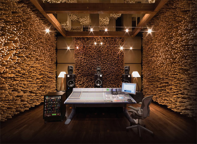 Fan Of Music But I Never Thought You Can Build A Home Studio With Cool Design Like The One In Following Picture Wonder How Recording Booth