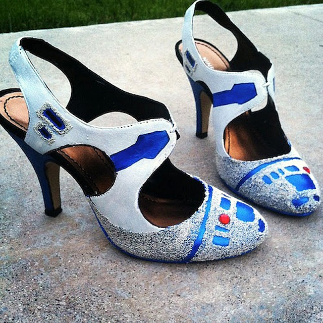 Star Wars High Heels for Geeky Girls from crazycoolgadgets.com