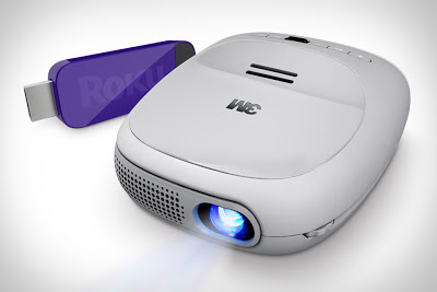3M Streaming Projector By Roku