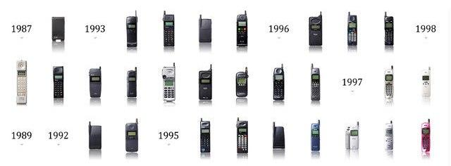 Cellular Phone Evolution The Evolution of Cellular