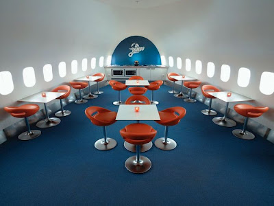 The airplane hotel