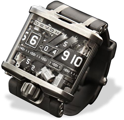 The buletproof watch: Devon Works Tread 1