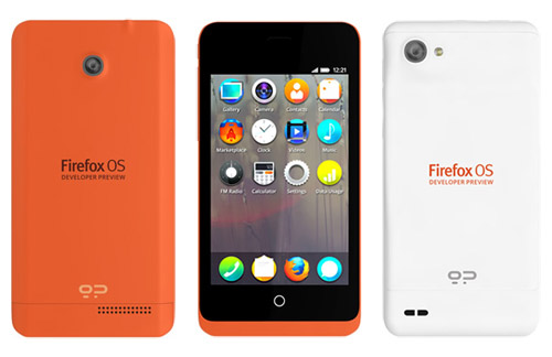 The first smartphone that runs Firefox OS