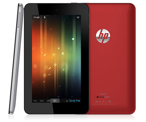 HP launches Slate 7, their first Android tablet