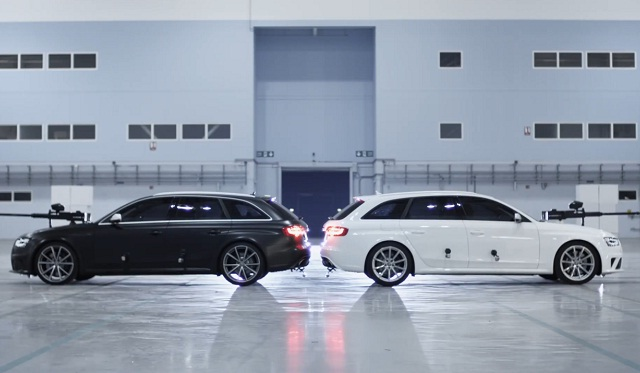 The Ultimate Paintball Duel: Audi RS 4 Avant