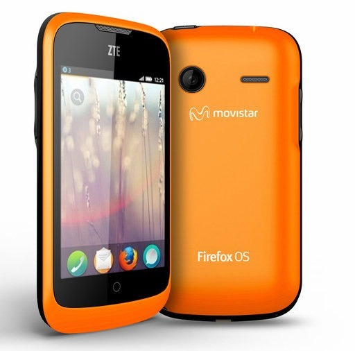 ZTE Open: the first Firefox OS phone