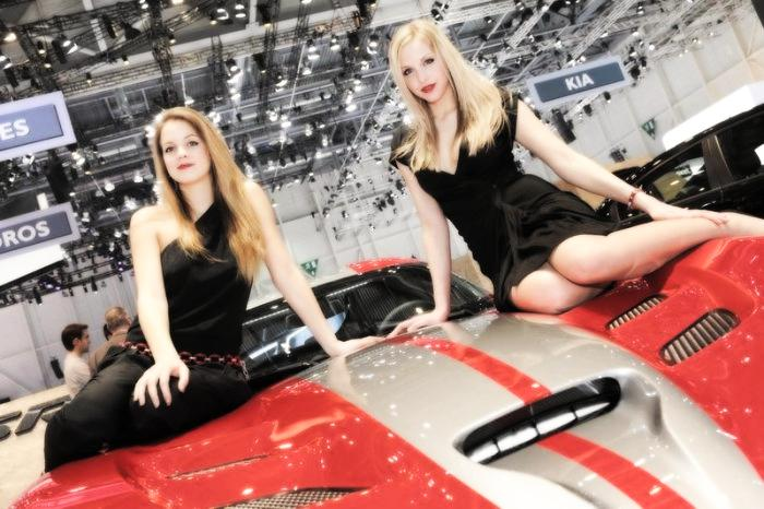 Babes & Cars - Geneva Motor Show 2013 (18)