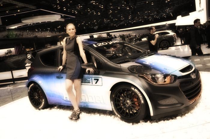 Babes & Cars - Geneva Motor Show 2013 (2)