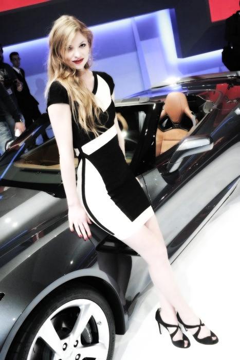 Babes & Cars - Geneva Motor Show 2013 (22)