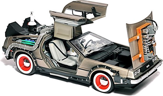 Cool Back To The Future USB Hard Drive
