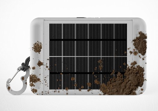The e-Ink solar tablet is perfect for wild life